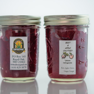 Beet & Apple Chutney