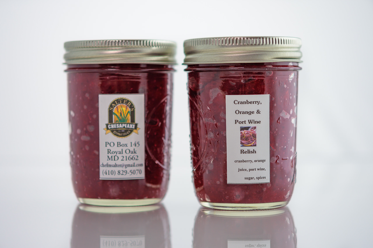 Cranberry, Orange & Port Wine Relish – Salter's Chesapeake Gourmet